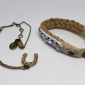 Juicy Couture Necklace and Bracelet Band